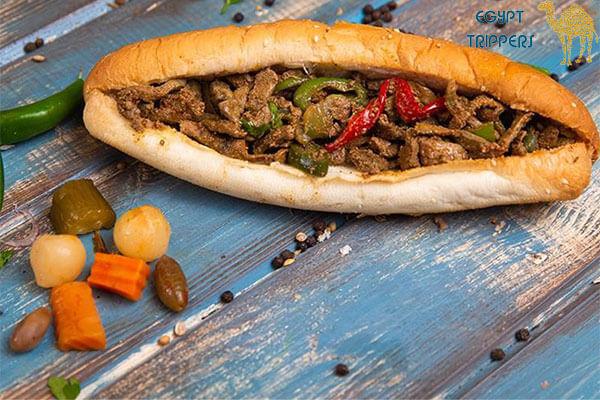 Alexandrian Liver Sandwich