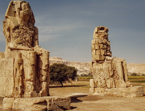 thousands of years. The Temple of Queen Hatshepsut & The Colossi of Memnon