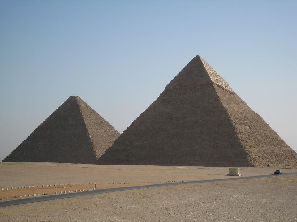 Day 02: Tour to Giza Pyramids, Memphis, and Sakkara