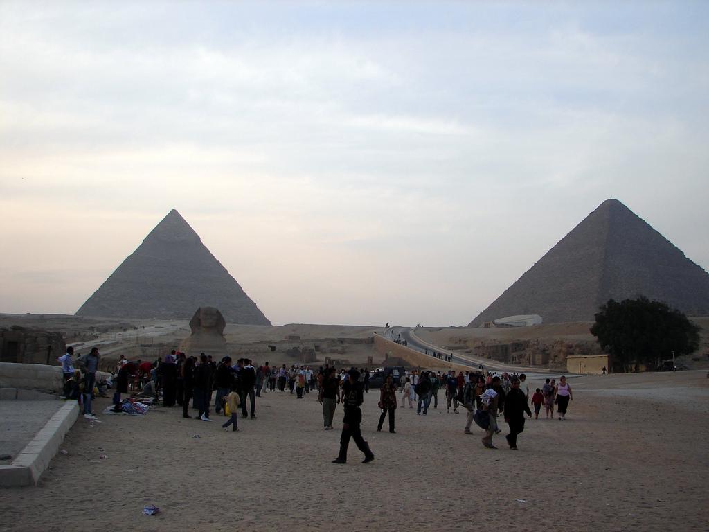 Day 02: Giza Pyramids, Sakkara & Memphis