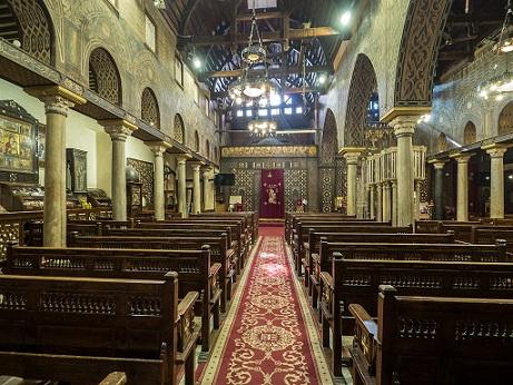 Day 10: Full day Tour Sakkara & Coptic Egypt