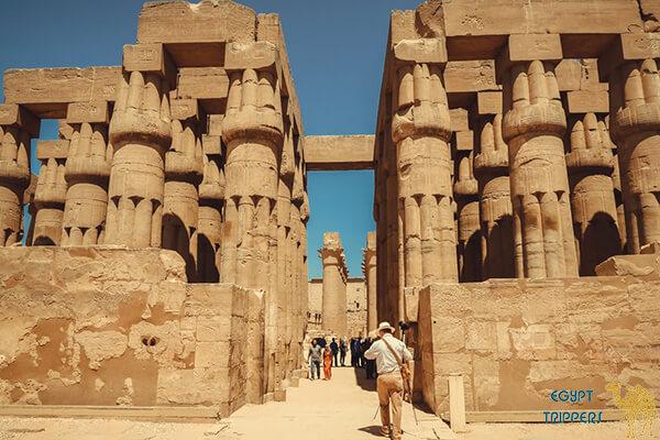 History of Luxor City