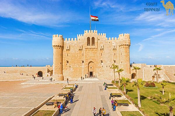 Lighthouse of Alexandria & Citadel of Qaitbay