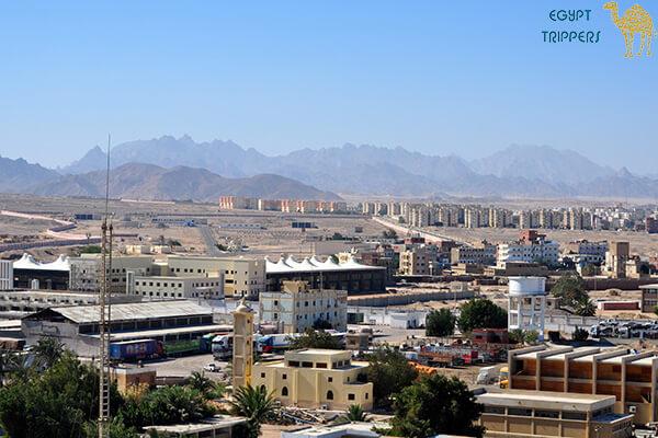 Location of Safaga City