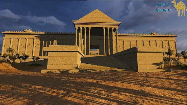 The Reconstructed Temple