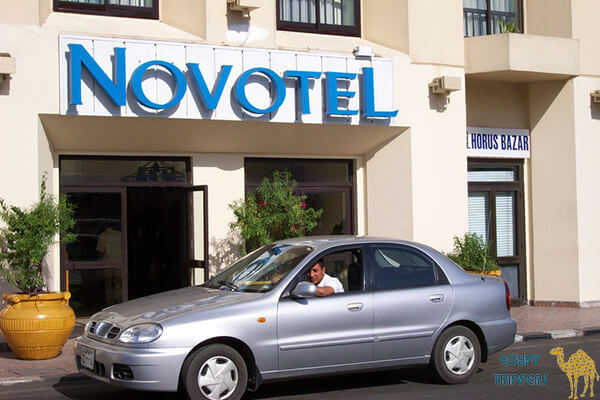 The Novotel Luxor