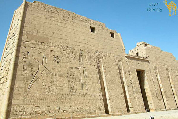 The Temple of Habu or Madinat Habu