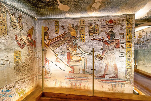 The Tomb of King Tuthmosis the Fourth