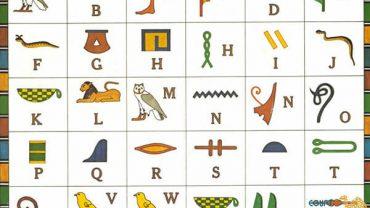 egyptian hieroglyphs alphabet