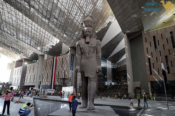 Construction of the Grand Egyptian Museum